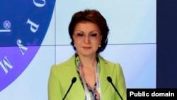 """Мәжіліс вице-спикері, """"Нұр Отан"""" партиясының парламенттік фракциясының жетекшісі Дариға Назарбаева."""