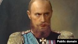 Владимир Путин в виде Николая II