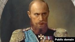 Владимир Путин в образе русского императора