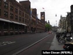 Un cartier din Amsterdam