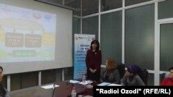 "Презентация ОО ""Гулрухсор"" на тему домашнего насилия"