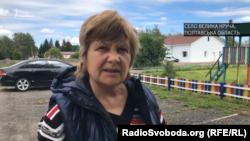 Мешканка села Велика Круча Віра Вшивцева
