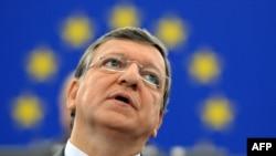 Еуропа комиссиясының президенті Жозе Мануэль. Страсбург, 12 қыркүйек 2012 жыл.