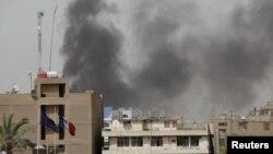Pamje nga një sulm i mëparshëm me bombë në Bagdad