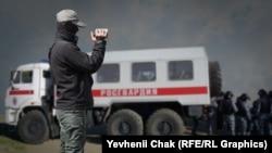 Архівне фото, обшуки в Криму