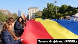 Oameni și culori la Chișinău