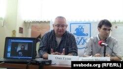 Дзьмітры Макараў і Алег Гулак