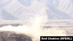 Kyrgyzstan -- Naryn, hydroelectric dam, 16 October 2014