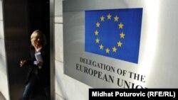 Ulaz u zgradu Delegacije EU u Sarajevu, ilustrativna fotografija