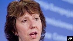 Високиот претставник за надворешна политика и безбедност Кетрин Ештон