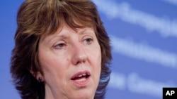Еврокомесарот за надворешни работи Кетрин Ештон