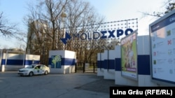 Centru de triere pentru bolnavii de Covid-19 la Moldexpo