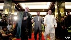 رؤسای جمهوری ایران، پاکستان و افغانستان در آستانه برگزاری نشست سهجانبه تهران
