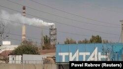 Завод «Крымский титан». Архивное фото
