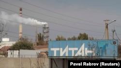 Завод «Кримський титан», архівне фото
