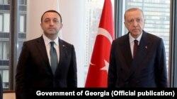 Ираклий Гарибашвили и Реджеп Тайип Эрдоган