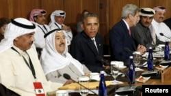 Президент Обама и госсекретарь Керри участвуют во встрече с представителями стран Персидского залива