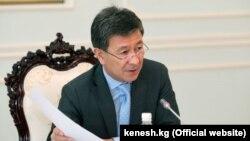Бывший первый зампред правительства Кыргызстана Аскарбек Шадиев.