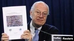 Новый специальный посланник ООН по Сирии Стаффан де Мистура.