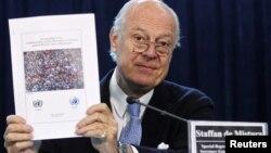 Новий посланець ООН у Сирії Стаффан де Містура