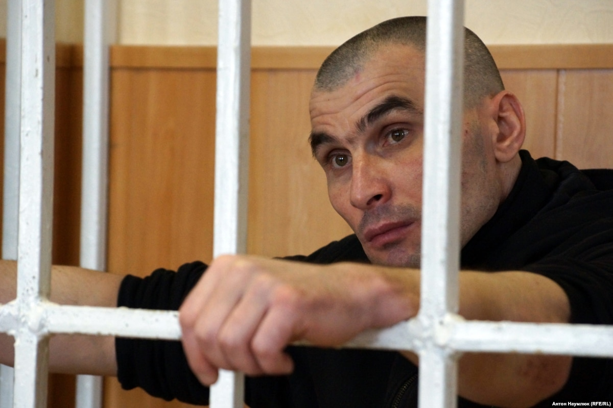 Помилуваного президентом Сергея Литвинова выпустили из колонии на Харьковщине