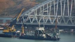 Заблокированный Керченский мост и молитва за царя. Крымский вечер