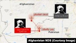 تصویری از نوار صوتی ریاست عمومی امنیت ملی افغانستان در مورد سازماندهی حمله بر قوماندانی امنیه کندهار از چمن پاکستان