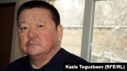 Алшынбай Ыбырай, Әділет Тұрсынбековтің әкесі. Алматы, 30 қаңтар 2013 жыл.