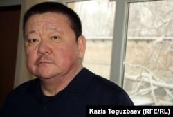Алшынбай Ыбырай, отец погибшего полицейского Адлета Турсынбекова. Алматы, 30 января 2013 года.