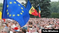 На мітингу у Кишиневі