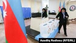 Խորհրդարանական ընտրությունները Ադրբեջանում, Բաքու, 1-ը նոյեմբերի, 2015թ․