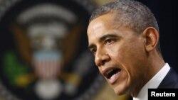АҚШ президенті Барак Обама. Вашингтон, 28 қараша 2012 жыл.