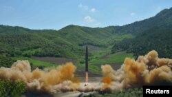 Racheta nord-coreeană Hwasong-14