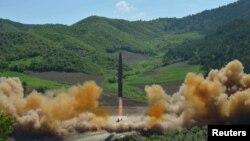 ჩრდილოეთმა კორეამ გამოსცადა საკონტინენტთაშორისო რაკეტა