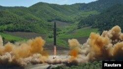 راکت بالستیک کوریایی شمالی
