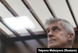 Майкл Калви на судебных слушаниях в Москве. 15 февраля 2019 года