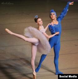 """Главная роль в балете """"Спящая красавица"""""""