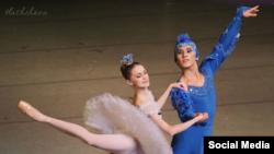 «Уйкудагы сулуу» балетиндеги башкы ролу.
