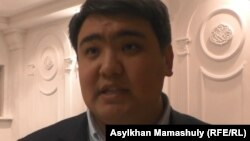 Тазабек Самбетбай, руководитель филиала Общенациональной социал-демократической партии по городу Алматы.
