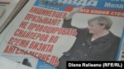 Кишиневская пресса перед визитом канцлера Германии, 22 августа 2012