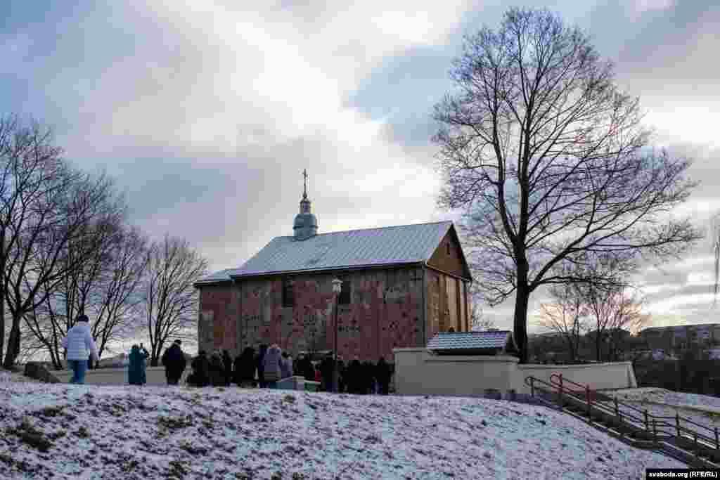 Belarus - Nativity scene in Horadnia, 6Dec2020