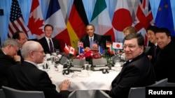 Нидерландаш -- Гаагерчу G-7 саммитехь, 24Заз2014.