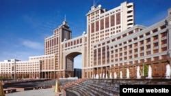 Здание компании «КазМунайГаз» в Астане.