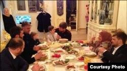 Обед в доме Рамзана Кадырова