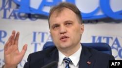 Transdniestrian leader Yevgeny Shevchuk