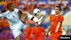 Голландия-Дания матчынан көрініс. Харьков, 9 маусым 2012 жыл