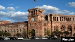 Armenia-The building of the Government of Armenia,4March,2020