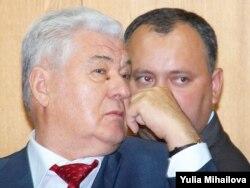 Vladimir Voronin și Igor Dodon