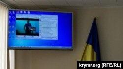 Суд 20 червня, Енвер Веліляєв брав участь у засіданні по відеозв'язку