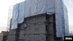 یکی از ویلاهای در حال ساخت، منتسب به فاطمه حسینی در لواسان